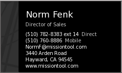 Norm Fenk vCard